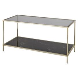 Argos Home Midnight Opulence Coffee Table - Bronze