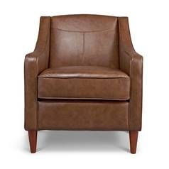 Argos Home Dorian Faux Leather Armchair - Tan