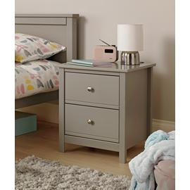 Argos Home Brooklyn 2 Drawer Bedside Table
