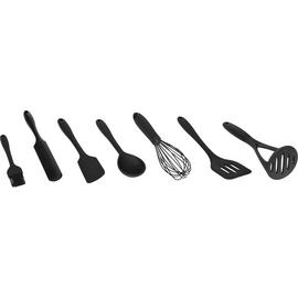Argos Home 8 Piece Silicone Utensils Set - Black