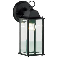 Wall lights lanterns outside led wall lights argos zinc ceres hanging outdoor wall lantern black aloadofball Image collections