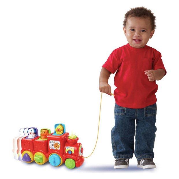 Buy Vtech Pop Up Friends Train Baby Toys Argos