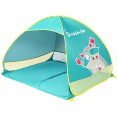Badabulle 1 Man 1 Room Anti-UV Blue Tent