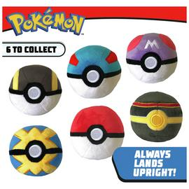 Pokemon 4 Inch Poke Ball Plush