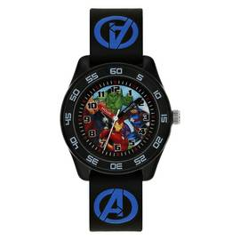 ffd5985ce Marvel Avengers Time Teacher Black Silicone Strap Watch