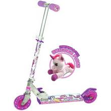 Ozbozz Unicorn Scooter With Soft Toy