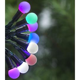 Argos Home 160 Multicoloured LED Berry Lights - 14m