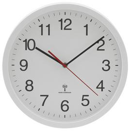 Argos Home Radio Controlled Wall Clock - White