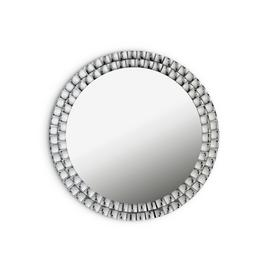 Argos Home Circular Jewelled Glass Mirror