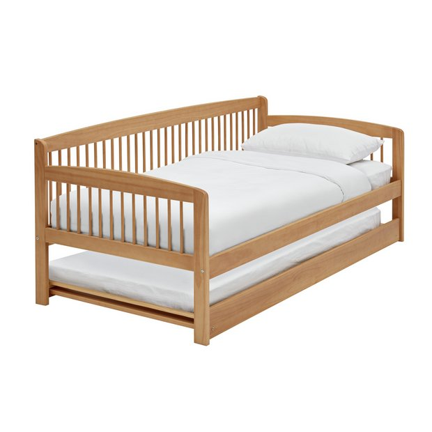 Buy Argos Home Andover Day Bed W Trundle 2 Mattresses Pine