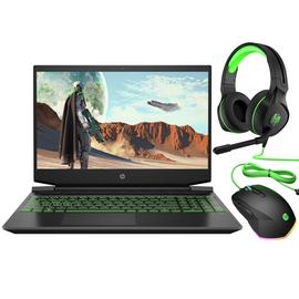 HP Pavilion 15.6in Ryzen 5 8GB 256GB GTX1050 Gaming Laptop