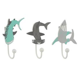 Argos Home Ocean Pack of 3 Shaped Hooks