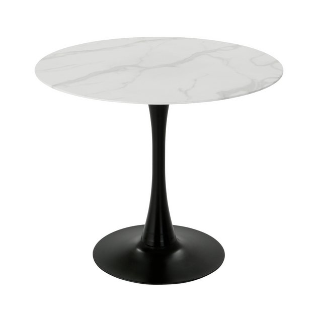 Buy Habitat Tulip Marble Effect 4 Seater Dining Table Dining Tables Argos