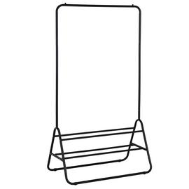 Habitat Arnie Clothes Rail with Shoe Rack - Black