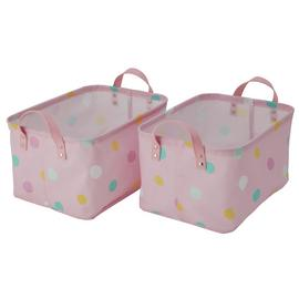 Argos Home Pack of 2 Spots Storage Bags