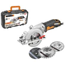 WORX WX429 Mini Saw with 3 Blades – 400W