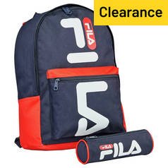 a6685de907c FILA Backpack and Pencil Case - Blue. Rating 4.800071 out of 5