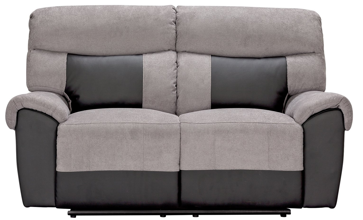 fabric recliner sofa. Argos Home Henry 2 Seater Fabric Recliner Sofa - Charcoal N