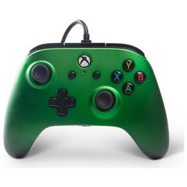 Enhanced Wired Controller for Xbox One - Emerald Fade