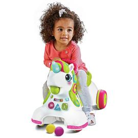 Infantino 3-in-1 Sit, Walk & Ride Unicorn