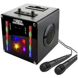 RockJam SingCube Bluetooth Karaoke Machine - Black