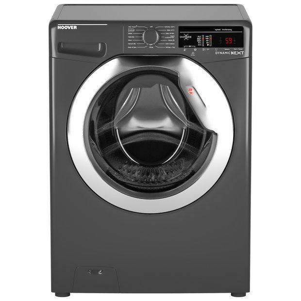 Buy Hoover DXOA49C3R 9KG 1400 Spin Washing Machine - Graphite   Washing  machines   Argos