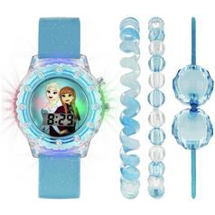 Disney Frozen Stone Set Light Up Watch and Jewellery Set