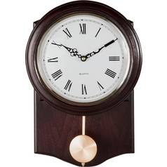 Argos Home Brown Pendulum Wall Clock