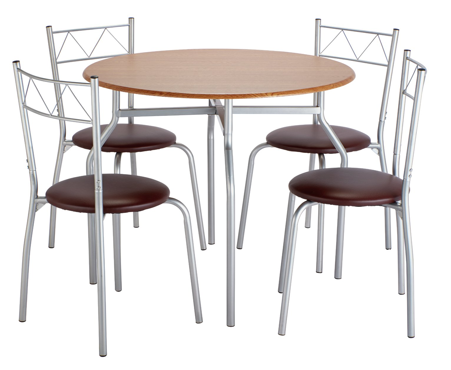 Argos Home Oslo Round Dining Table and 4 Chairs  sc 1 st  Argos & Dining Sets | Kitchen Tables u0026 Chairs | Argos