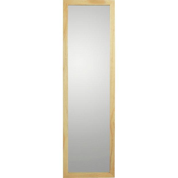 Buy Argos Home Wooden Full Length Mirror Oak Effect Mirrors Argos