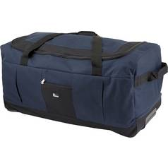 Go Explore Soft Wheeled 80 Litre Large Holdall - Navy