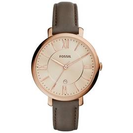 Fossil Ladies' Jacqueline ES3707 Rose Gold Tone Watch