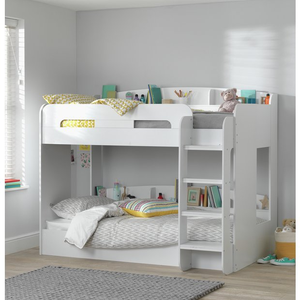 Buy Argos Home Ultimate Bunk Bed And 2 Kids Mattresses White Kids Beds Argos