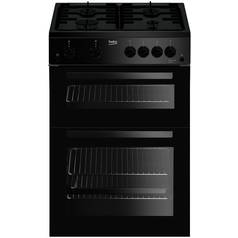 Beko KDG611K Gas Cooker - Black