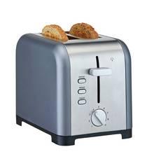 Cookworks Metal Bullet 2 Slice Toaster - Grey