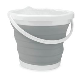 Beldray 10 Litre Collapsible Bucket - Grey