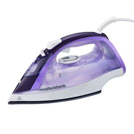 Morphy Richards 300301 Crystal Clear Amethyst Steam Iron