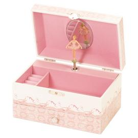 Mele Ballet Shoe Musical Jewellery Box