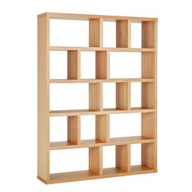 Habitat Hopkins Wood Veneer Bookcase