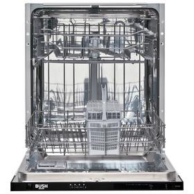 Bush DW12LSINT Full Size Integrated Dishwasher - White