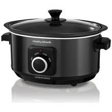 Morphy Richards Evoke 3.5L Sear and Stew Slow Cooker - Black