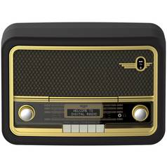 Bush Classic Super Retro Bluetooth DAB Radio - Brown