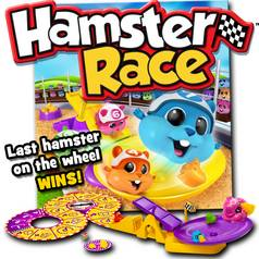 Hamster Race Board Game