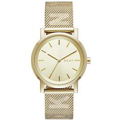 DKNY Ladies' Soho NY2621 Gold Tone Bracelet Watch