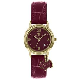 Radley Ladies' Darlington RY2008 Purple Leather Strap Watch