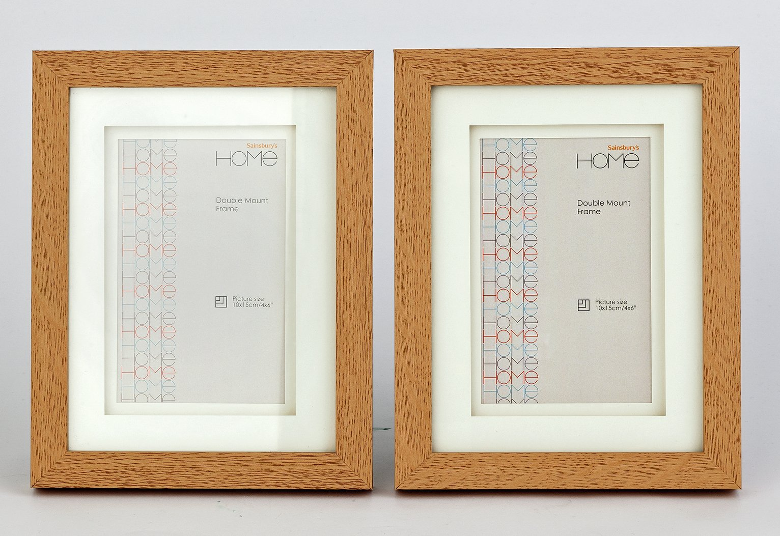30 x 40 inch frame set of 4x6 inch double mount frames oak effect results for 30x40 inch frame