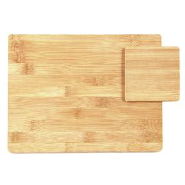 Argos Home Set of 4 Bamboo Placemats and Coasters