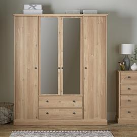 Argos Home Kensington 4 Door 2 Drawer Wardrobe
