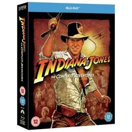 Indiana Jones: The Complete Adventures Blu-Ray Box Set