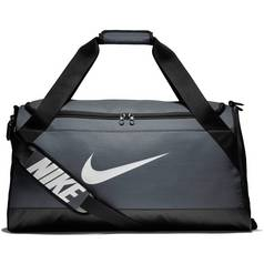 05220db04e Nike Brasilia Medium Holdall - Grey